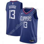 Camisetas NBA Niños Los Angeles Clippers 2019-20 Paul George 13# Azul Icon Edition Swingman..