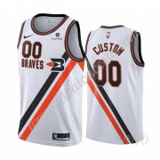 Camisetas NBA Niños Los Angeles Clippers 2019-20 Blanco Classics Edition Swingman..