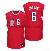 Camisetas Baloncesto NBA Los Angeles Clippers 2015-16 Deandre Jordan 6# Road..