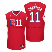 Camisetas Baloncesto NBA Los Angeles Clippers 2015-16 Jamal Crawford 11# Road..