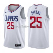 Camisetas Baloncesto NBA Los Angeles Clippers 2018  Austin Rivers 25# Association Edition..