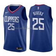 Camisetas Baloncesto NBA Los Angeles Clippers 2018  Austin Rivers 25# Icon Edition..