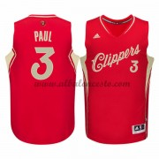 Camisetas NBA Baratas Los Angeles Clippers 2015 Chris Paul 3# Baloncesto Wars Navidad..
