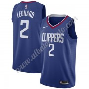 Camisetas Baloncesto NBA Los Angeles Clippers 2019-20 Kawhi Leonard 2# Azul Icon Edition Swingman..