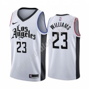 Camisetas Baloncesto NBA Los Angeles Clippers 2019-20 Lou Williams 23# Blanco City Edition Swingman..