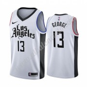 Camisetas Baloncesto NBA Los Angeles Clippers 2019-20 Paul George 13# Blanco City Edition Swingman..