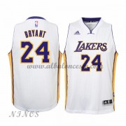Camisetas Baloncesto Niños Los Angeles Lakers 2015-16 Kobe Bryant 24# Blanco NBA Home..