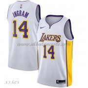 Camisetas Baloncesto Niños Los Angeles Lakers 2018 Brandon Ingram 14# Association Edition..