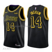 Camisetas Baloncesto Niños Los Angeles Lakers 2018 Brandon Ingram 14# City Edition..