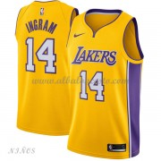 Camisetas Baloncesto Niños Los Angeles Lakers 2018 Brandon Ingram 14# Icon Edition..