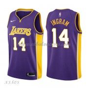 Camisetas Baloncesto Niños Los Angeles Lakers 2018 Brandon Ingram 14# Statement Edition..