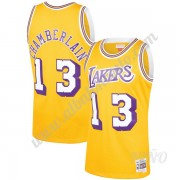 Camisetas NBA Niños Los Angeles Lakers 1971-72 Wilt Chamberlain 13# Oro Hardwood Classics Swingman..