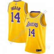 Camisetas NBA Niños Los Angeles Lakers 2019-20 Brandon Ingram 14# Oro Icon Edition Swingman..