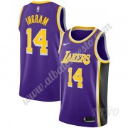 Camisetas NBA Niños Los Angeles Lakers 2019-20 Brandon Ingram 14# Púrpura Statement Edition Swingman..
