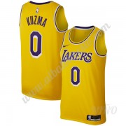 Camisetas NBA Niños Los Angeles Lakers 2019-20 Kyle Kuzma 0# Oro Replica Icon Edition Swingman..