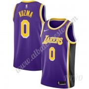 Camisetas NBA Niños Los Angeles Lakers 2019-20 Kyle Kuzma 0# Púrpura Statement Edition Swingman..