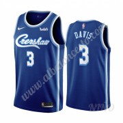 Camisetas NBA Niños Los Angeles Lakers 2019-20 Anthony Davis 3# Azul Classics Edition Swingman..
