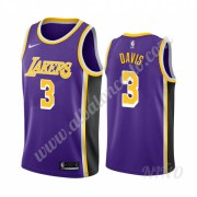 Camisetas NBA Niños Los Angeles Lakers 2019-20 Anthony Davis 3# Púrpura Statement Edition Swingman..
