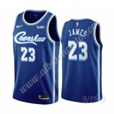 Camisetas NBA Niños Los Angeles Lakers 2019-20 LeBron James 23# Azul Classics Edition Swingman