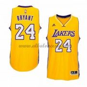 Camisetas NBA Baratas Los Angeles Lakers 2015-16 Kobe Bryant 24# Gold Home..