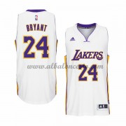 Camisetas Baloncesto NBA Los Angeles Lakers 2015-16 Kobe Bryant 24# Blanco Home