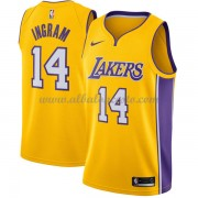 Camisetas Baloncesto NBA Los Angeles Lakers 2018  Brandon Ingram 14# Icon Edition..