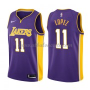 Camisetas Baloncesto NBA Los Angeles Lakers 2018  Brook Lopez 11# Statement Edition..