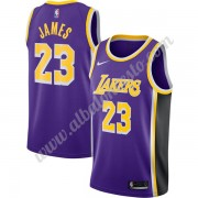 Camisetas Baloncesto NBA Los Angeles Lakers 2019-20 LeBron James 23# Púrpura Replica Statement Editi..