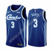 Camisetas Baloncesto NBA Los Angeles Lakers 2019-20 Anthony Davis 3# Azul Classics Edition Swingman..