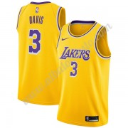 Camisetas Baloncesto NBA Los Angeles Lakers 2019-20 Anthony Davis 3# Oro Icon Edition Swingman..