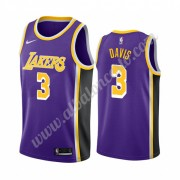 Camisetas Baloncesto NBA Los Angeles Lakers 2019-20 Anthony Davis 3# Púrpura Statement Edition Swing..