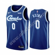 Camisetas Baloncesto NBA Los Angeles Lakers 2019-20 Kyle Kuzma 0# Azul Classics Edition Swingman..
