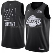 Los Angeles Lakers Kobe Bryant 24# Black 2018 All Star Game Swingman Basketball Jersey..