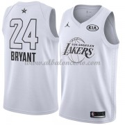 Los Angeles Lakers Kobe Bryant 24# White 2018 All Star Game Swingman Basketball Jersey..