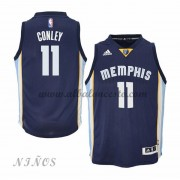 Camisetas Baloncesto Niños Memphis Grizzlies 2015-16 Mike Conley 11# NBA Road..