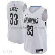 Camisetas Baloncesto Niños Memphis Grizzlies 2018 Marc Gasol 33# City Edition..