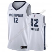 Camisetas NBA Niños Memphis Grizzlies 2019-20 Ja Morant 12# Blanco Association Edition Swingman..