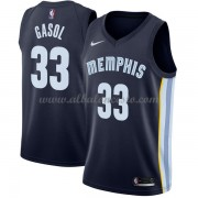 Camisetas Baloncesto NBA Memphis Grizzlies 2018  Marc Gasol 33# Icon Edition..