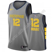 Camisetas Baloncesto NBA Memphis Grizzlies 2019-20 Ja Morant 12# Gris City Edition Swingman..