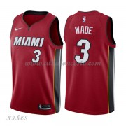 Camisetas Baloncesto Niños Miami Heat 2018 Dwyane Wade 3# Statement Edition..