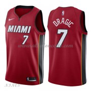 Camisetas Baloncesto Niños Miami Heat 2018 Goran Dragic 7# Statement Edition..