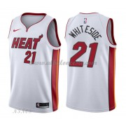 Camisetas Baloncesto Niños Miami Heat 2018 Hassan Whiteside 21# Association Edition..