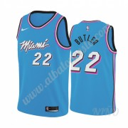 Camisetas NBA Niños Miami Heat 2019-20 Jimmy Butler 22# Azul City Edition Swingman..