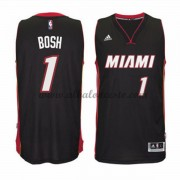 Camisetas Baloncesto NBA Miami Heat 2015-16 Chris Bosh 1# Road..