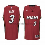 Camisetas NBA Baratas Miami Heat 2015-16 Dwyane Wade 3# Alternate..