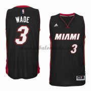 Camisetas Baloncesto NBA Miami Heat 2015-16 Dwyane Wade 3# Road..