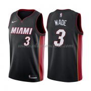 Camisetas Baloncesto NBA Miami Heat 2018  Dwyane Wade 3# Icon Edition..