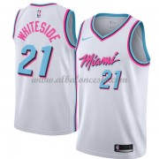 Camisetas Baloncesto NBA Miami Heat 2018  Hassan Whiteside 21# City Edition..