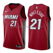 Camisetas Baloncesto NBA Miami Heat 2018  Hassan Whiteside 21# Statement Edition..