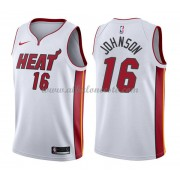 Camisetas Baloncesto NBA Miami Heat 2018  James Johnson 16# Association Edition..